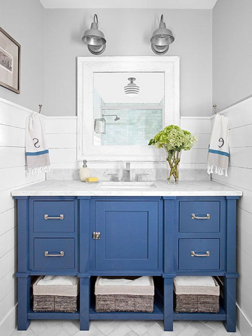 Blue Bathroom Vanity # 1000+ Ideas About Blue Vanity On Pinterest | Vanities, Gold Faucet photo gallery